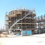 trattamento termico con aria calda a Arzew (Algeria)
